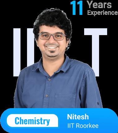 Chemistry teacher, Nitesh